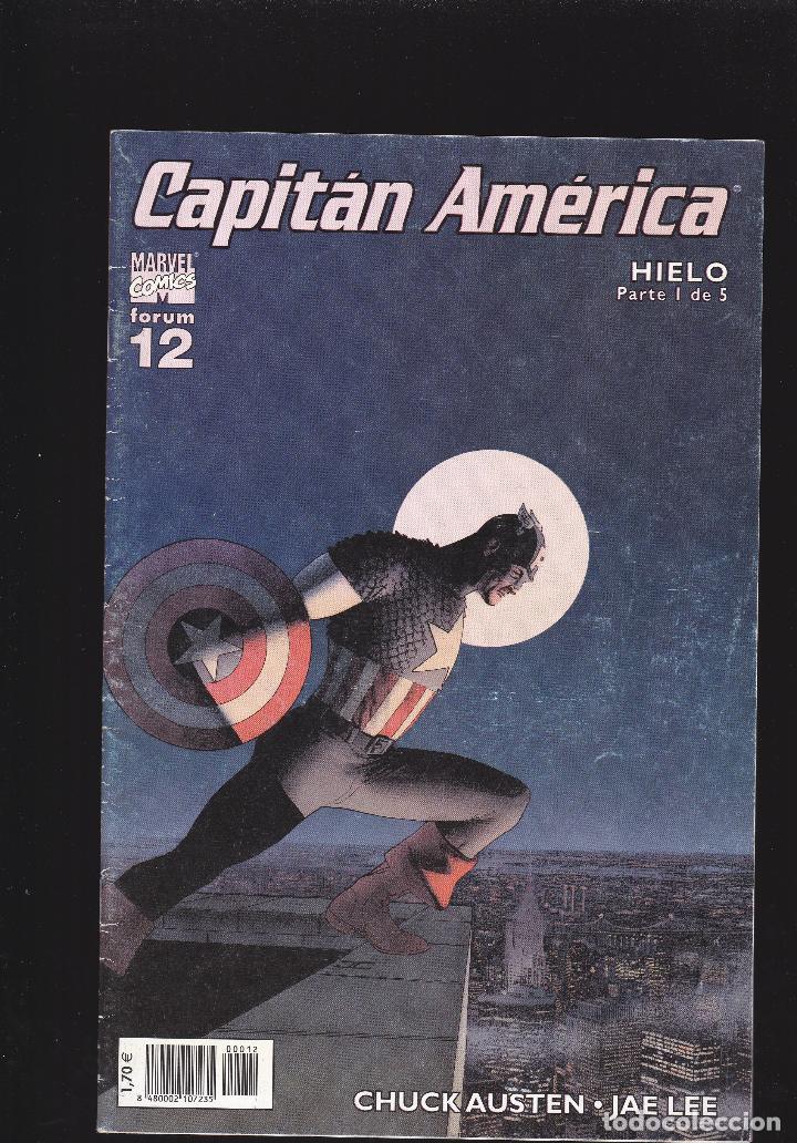 CAPITÁN AMÉRICA - VOL. 5 Nº 12 - HIELO: PARTE 1 DE 5 - FORUM - (Tebeos y Comics - Forum - Capitán América)