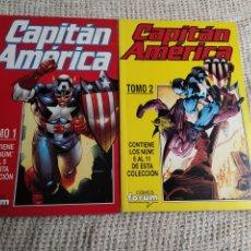 Cómics: CAPITAN AMERICA VOL 4 DOS TOMOS RECOPILATORIOS ( Nº 1 AL 11 ). Lote 235354605