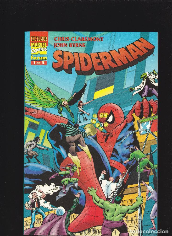 SPIDERMAN DE CLAREMONT Y BYRNE - Nº 1 DE 3 - FORUM - (Tebeos y Comics - Forum - Spiderman)