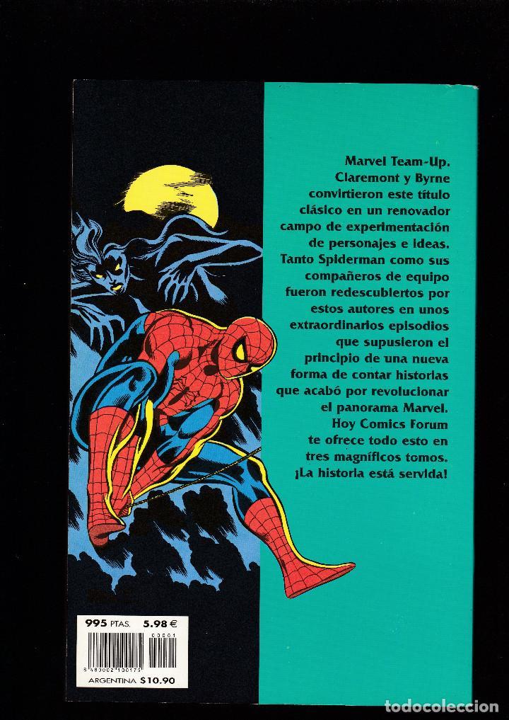 Cómics: SPIDERMAN DE CLAREMONT Y BYRNE - Nº 1 DE 3 - FORUM - - Foto 2 - 235359775