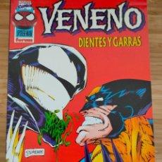 Cómics: VENENO DIENTES Y GARRAS FORUM. Lote 235363985