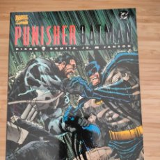 Cómics: PUNISHER BATMAN FORUM MARVEL DC DE DIXON Y ROMITA JR. Lote 235364545