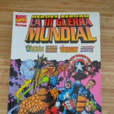 Cómics: HEROES REBORN LA III GUERRA MUNDIAL FORUM. Lote 235365745