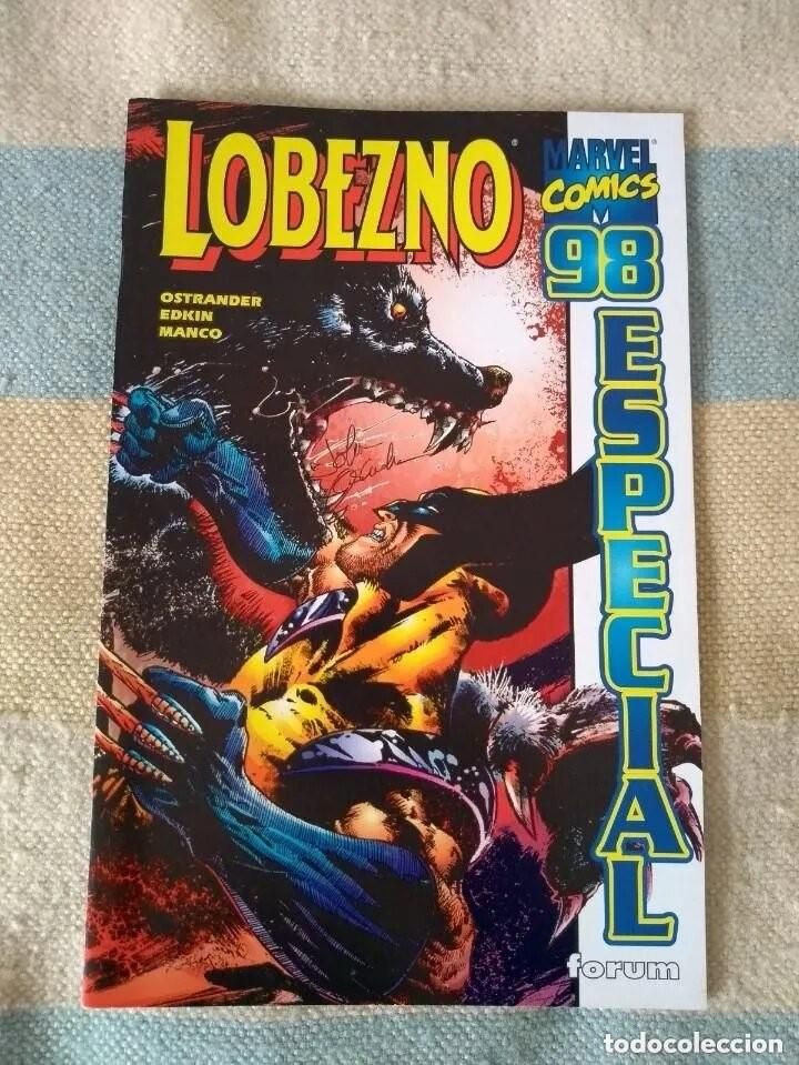 LOBEZNO ESPECIAL 98 - BUEN ESTADO - D4 (Tebeos y Comics - Forum - Patrulla X)