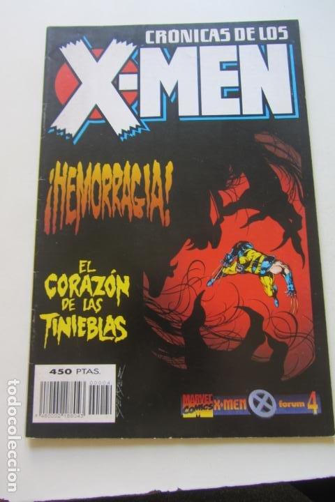 CRONICAS DE LOS X-MEN Nº 4 FORUM MUCHOS EN VENTA PIDE FALTAS ARX48 (Tebeos y Comics - Forum - X-Men)