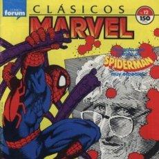 Cómics: SPIDERMAN CLASICOS MARVEL 12-13 (LA MUERTE CAPITAN STACY). Lote 235422935