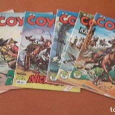 Cómics: EL COYOTE EDICIÓN POPULAR LOTE DE 6 Nº.. Lote 235466950