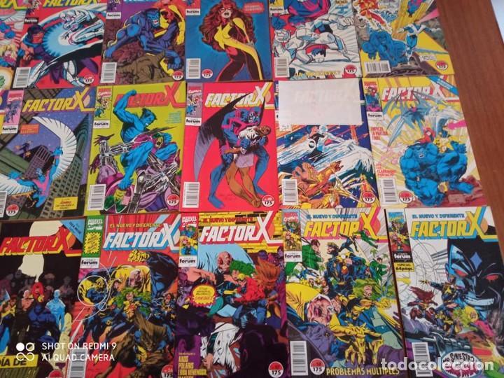 Cómics: FACTOR X - (72 COMICS) - Foto 2 - 235489255