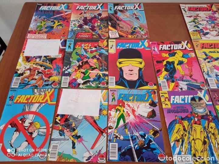 Cómics: FACTOR X - (72 COMICS) - Foto 3 - 235489255