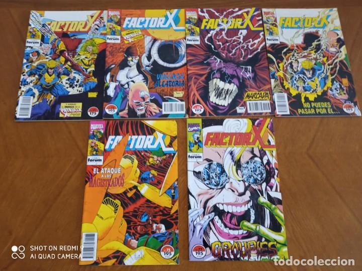 Cómics: FACTOR X - (72 COMICS) - Foto 4 - 235489255