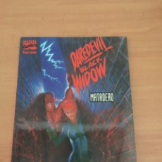 Cómics: DAREDEVIL / BLACK WIDOW : MATADERO ¡ NOVELA GRAFICA ! JIM STARLIN - JOE CHIODO / MARVEL - FORUM. Lote 235501075