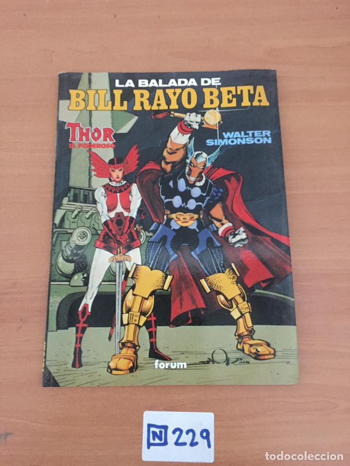 LA BALADA DE BILL RAYO BETA. THOR EL PODEROSO. WALTER SIMONSON. FORUM (Tebeos y Comics - Forum - Thor)