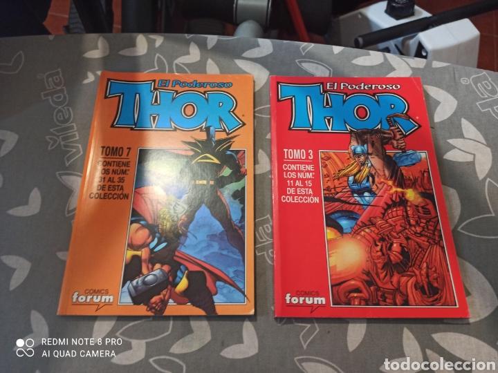 PODEROSO THOR 3 TOMOS RETAPADOS FORUM VOLUMEN 3, DEL 11 AL 15, 31 AL 35, DEL 41 AL 45 (Tebeos y Comics - Forum - Thor)