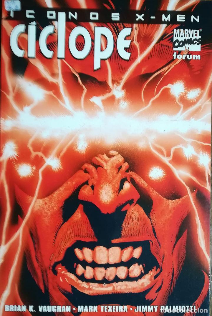 ICONOS X MEN CICLOPE (Tebeos y Comics - Forum - Prestiges y Tomos)