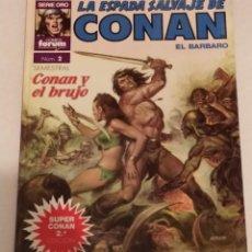 Cómics: SERIE ORO LA ESPADA SALVAJE DE CONAN Nº 2 CONAN EL BRUJO - FORUM 1989. Lote 235597590
