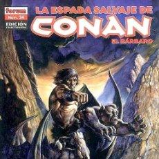 Cómics: LA ESPADA SALVAJE DE CONAN EL BARBARO - EDICION COLECCIONISTA Nº 24. Lote 235715115