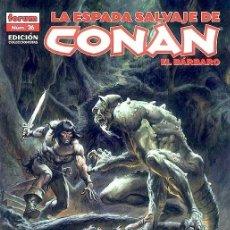 Cómics: LA ESPADA SALVAJE DE CONAN EL BARBARO - EDICION COLECCIONISTA Nº 26. Lote 235715410