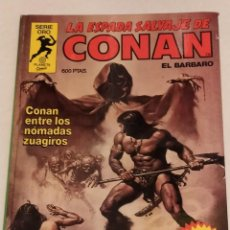 Cómics: SERIE ORO LA ESPADA SALVAJE DE CONAN Nº 15 CONAN ENTRE LOS NOMADAS ZUAGIROS - FORUM 1982. Lote 235829655