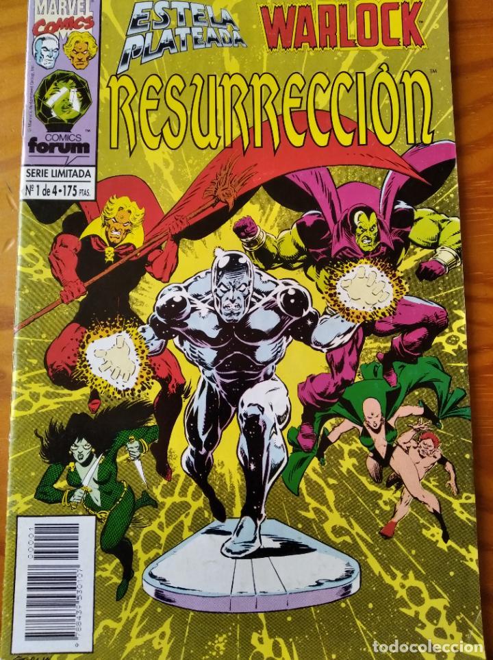 ESTELA PLATEADA, SILVER SURFER Y WARLOCK, RESURRECION Nº 1 - MARVEL COMICS FORUM (Tebeos y Comics - Forum - Silver Surfer)