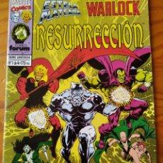 Cómics: ESTELA PLATEADA, SILVER SURFER Y WARLOCK, RESURRECION Nº 1 - MARVEL COMICS FORUM. Lote 235831530