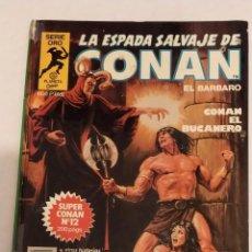 Cómics: SERIE ORO LA ESPADA SALVAJE DE CONAN Nº 13 CONAN EL BUCANERO - FORUM 1982. Lote 235832190
