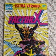 Cómics: FACTOR X , EXTRA VERANO - LOS REYES DEL DOLOR 4ª PARTE - MANTIENE POSTER CENTRAL. Lote 49843379