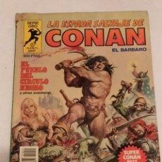 Cómics: SERIE ORO LA ESPADA SALVAJE DE CONAN Nº 11 EL PUEBLO DEL CIRCULO NEGRO - FORUM 1982. Lote 235844000