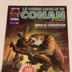 Cómics: SERIE ORO LA ESPADA SALVAJE DE CONAN Nº 10 CONAN ELCONQUISTADOR - FORUM 1992. Lote 235844695