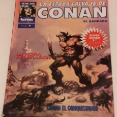 Cómics: SERIE ORO LA ESPADA SALVAJE DE CONAN Nº 9 LA HORA DEL DRAGON - FORUM 1991. Lote 235847190