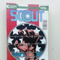 Cómics: SCOUT. Lote 235848125