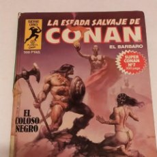 Cómics: SERIE ORO LA ESPADA SALVAJE DE CONAN Nº 7 EL COLOSO NEGRO - FORUM 1982. Lote 235848670