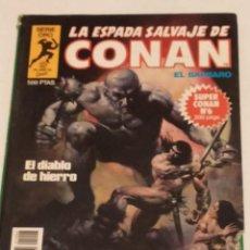 Cómics: SERIE ORO LA ESPADA SALVAJE DE CONAN Nº 6 EL DIABLO DE HIERRO - FORUM 1982. Lote 235849805