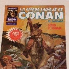 Cómics: SERIE ORO LA ESPADA SALVAJE DE CONAN Nº 5 CONAN EL NOMADA - FORUM 1990. Lote 235850540