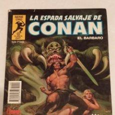 Cómics: SERIE ORO LA ESPADA SALVAJE DE CONAN Nº 4 CONAN EL RENEGADO - FORUM 1982. Lote 235851080