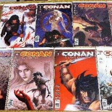 Cómics: CONAN LA LEYENDA, FORUM, 2005, VOL 1 AL 8.. Lote 235851250