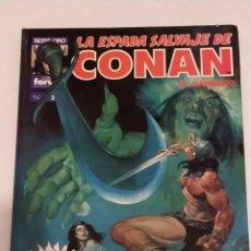 Cómics: SERIE ORO LA ESPADA SALVAJE DE CONAN Nº 3 LA ESPADA DE SKELOS - FORUM 1990. Lote 235851465