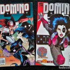 Cómics: DOMINO Nº 1 Y 2 - FORUM 1997 ''MUY BUEN ESTADO''. Lote 235857980