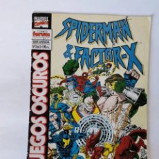 Cómics: SPIDER-MAN & FACTOR-X JUEGOS OSCUROS N° 2 DE 3 MARVEL FORUM. Lote 236029395