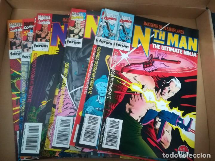 NTH MAN. THE ULTIMATE NINJA. LOTE DEL 1 AL 10. FORUM (Tebeos y Comics - Forum - Otros Forum)