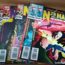 Cómics: NTH MAN. THE ULTIMATE NINJA. LOTE DEL 1 AL 10. FORUM. Lote 236049605