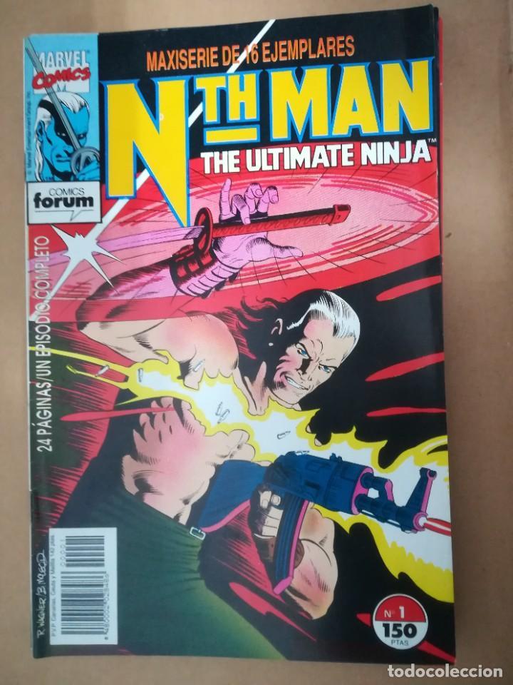 Cómics: NTH MAN. THE ULTIMATE NINJA. LOTE DEL 1 AL 10. FORUM - Foto 2 - 236049605