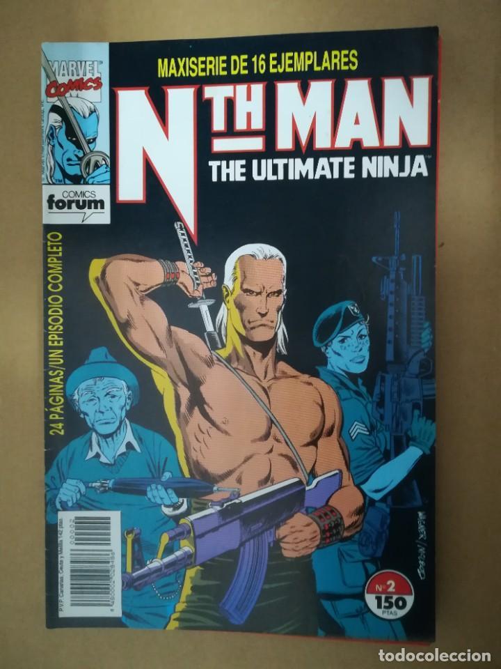 Cómics: NTH MAN. THE ULTIMATE NINJA. LOTE DEL 1 AL 10. FORUM - Foto 3 - 236049605