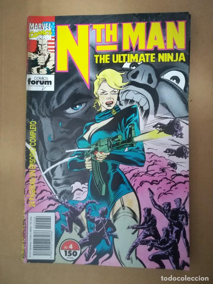 Cómics: NTH MAN. THE ULTIMATE NINJA. LOTE DEL 1 AL 10. FORUM - Foto 5 - 236049605