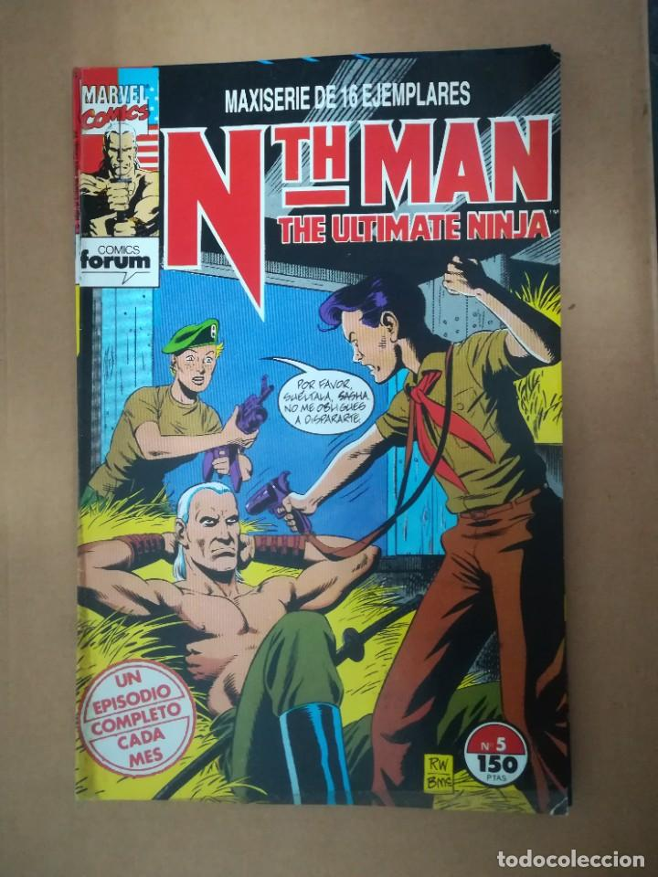 Cómics: NTH MAN. THE ULTIMATE NINJA. LOTE DEL 1 AL 10. FORUM - Foto 6 - 236049605