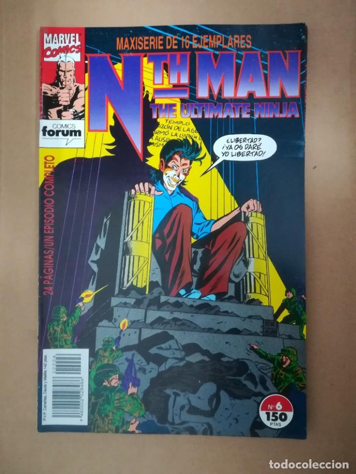 Cómics: NTH MAN. THE ULTIMATE NINJA. LOTE DEL 1 AL 10. FORUM - Foto 7 - 236049605