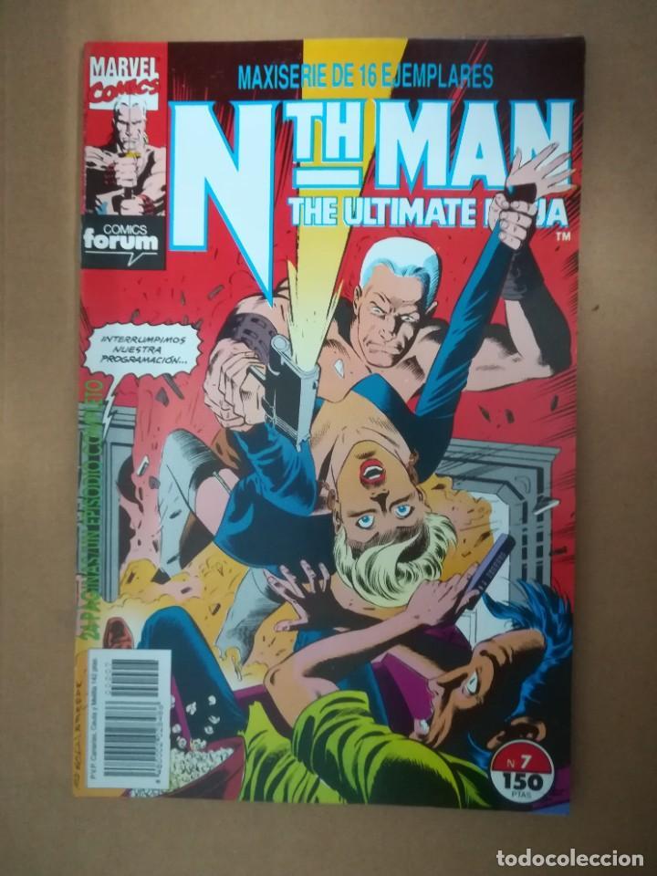 Cómics: NTH MAN. THE ULTIMATE NINJA. LOTE DEL 1 AL 10. FORUM - Foto 8 - 236049605