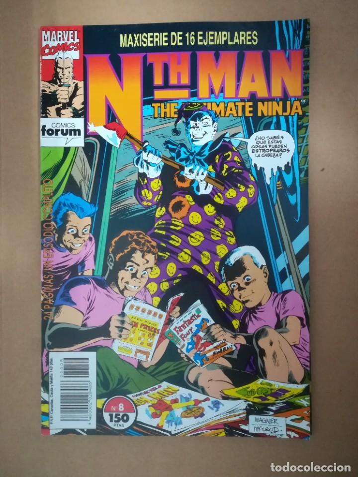 Cómics: NTH MAN. THE ULTIMATE NINJA. LOTE DEL 1 AL 10. FORUM - Foto 9 - 236049605