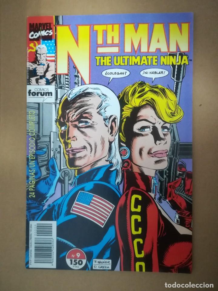 Cómics: NTH MAN. THE ULTIMATE NINJA. LOTE DEL 1 AL 10. FORUM - Foto 10 - 236049605