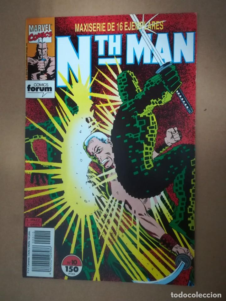 Cómics: NTH MAN. THE ULTIMATE NINJA. LOTE DEL 1 AL 10. FORUM - Foto 11 - 236049605