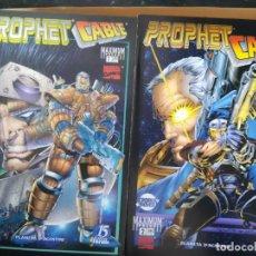 Cómics: PROPHET/CABLE. COMPLETA EN DOS NÚMEROS. PLANETA. Lote 236054590